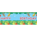 Jungle Buddies Party GIANT Banner